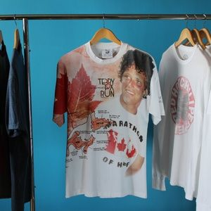 2005 Terry Fox Run Double Sided T-Shirt